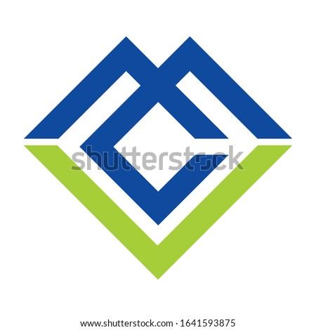 Creative MCL logo design for financial business companies, technology companies