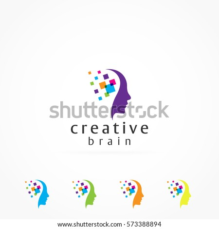 creative mind and colorful