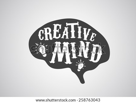 creative mind concept of human