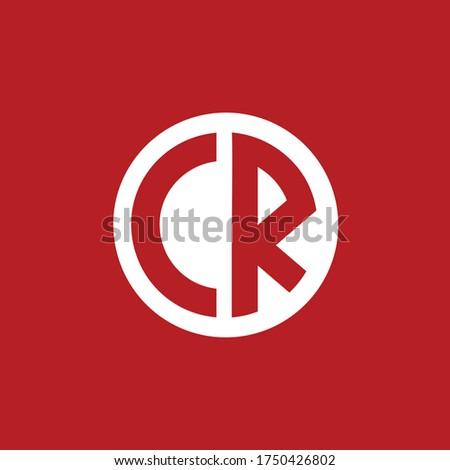creative minimal CE logo icon design in vector format with letter C E Zdjęcia stock ©