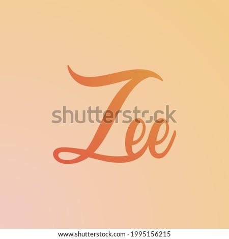 Creative modern new zee logo template design Stockfoto ©