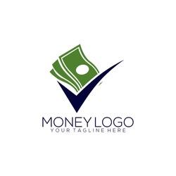 Creative Money Logo Design Template