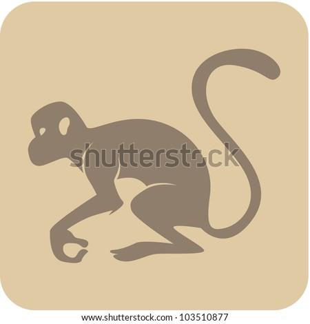 Creative Monkey Icon