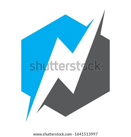 Creative N logo design for financial business companies, technology companies