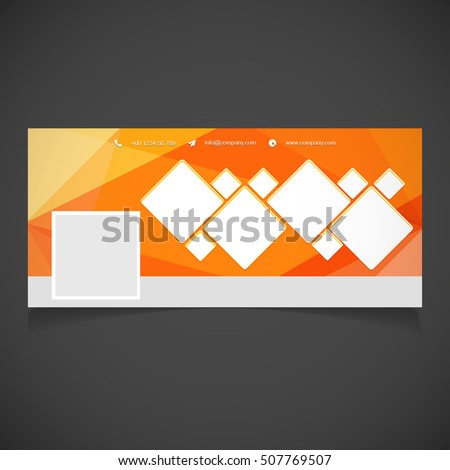 creative orange background