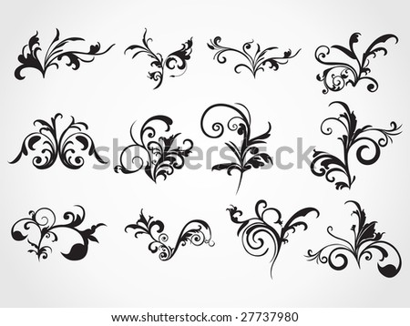stock vector creative pattern background tattoo