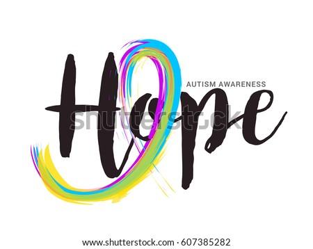 autism awareness children poster download free vector art stock