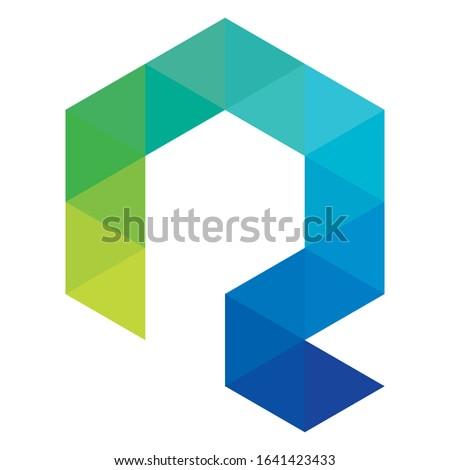 Creative Q logo design for financial business companies, technology companies