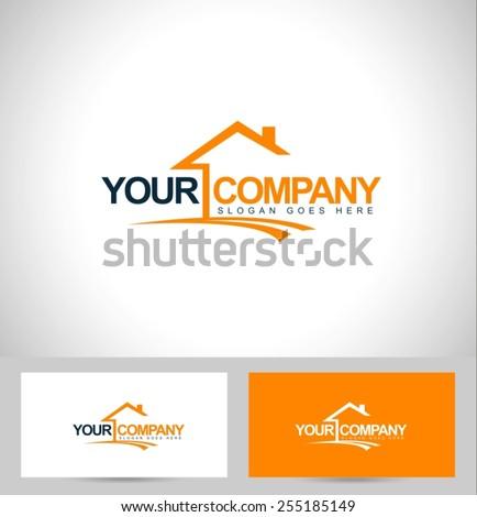 Creative Real Estate Logo Design. House Logo Design. Real Estate Vector Icon.