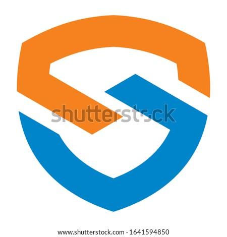 Creative S logo design for financial business companies, technology companies