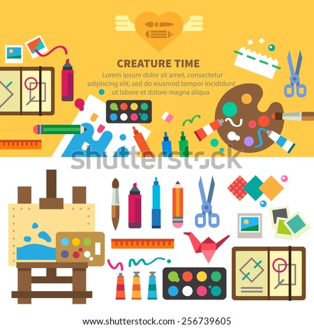 creative set for artist ideas