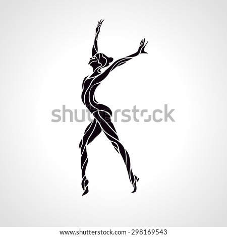 creative silhouette of