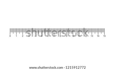 Creative size indicators. Black scale, markup for rulers. Different unit distances. Art design horizontal measure scale distances. Vector illustration.
