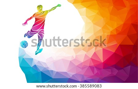 creative soccer player