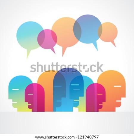creative social media vector
