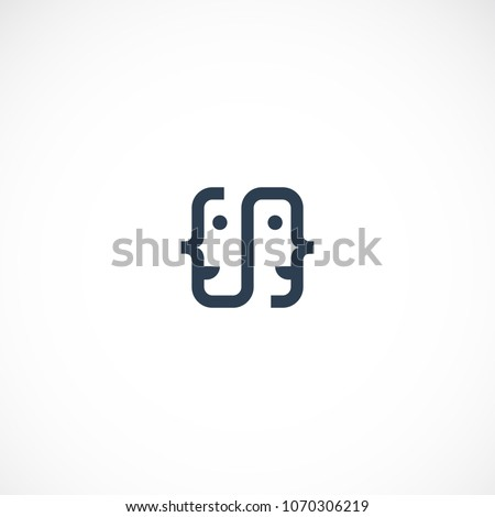 creative social people vector