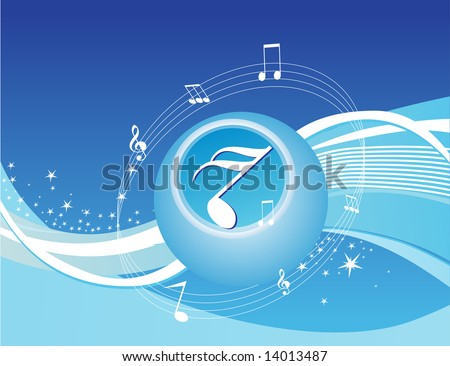 music background wallpaper. music background in blue,