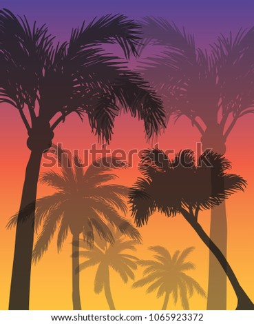 creative summer background with