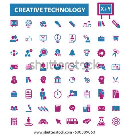 creative technology icons