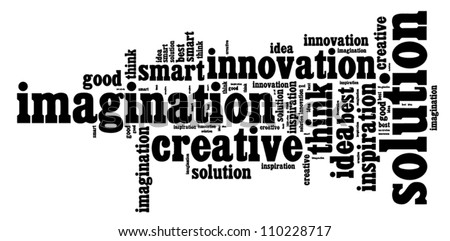 Creative thinking traits vector