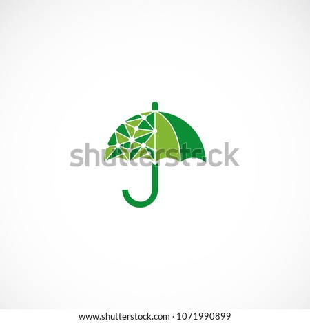 Creative umbrella vector designs