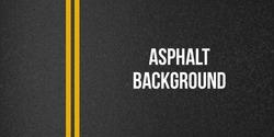 Creative vector illustration of road asphalt, tarmac background. Art design road granular asphalt top view template. Grainy texture. Abstract concept graphic separation lines element