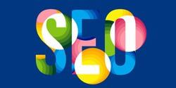 Creative vector illustration of SEO, search engine optimization, web analytics background. Promote internet search traffic. Abstract business, website marketing, ranking seo optimization concept