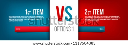 Creative vector illustration of service comparison table isolated on transparent background. Art design. Product info with description indicators. Abstract concept graphic bars infographic element