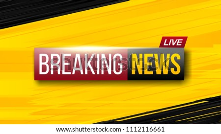 Breaking News Live Background Concept Download Free Vector Art