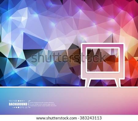 creative vector tv art