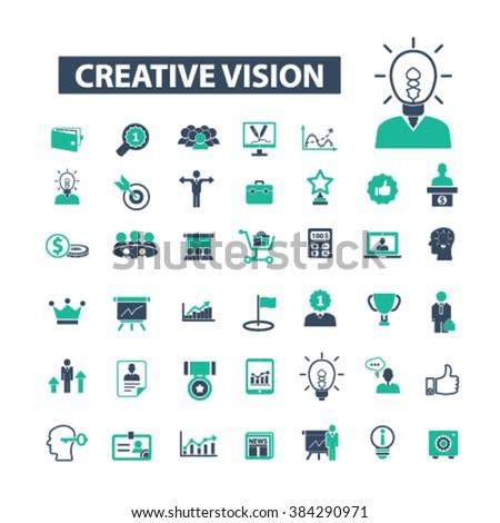 creative vision icons