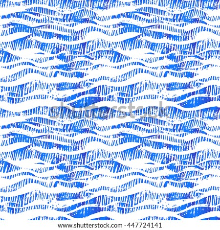 creative waves seamless vector