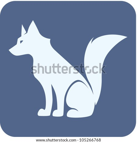 creative wolf illustration