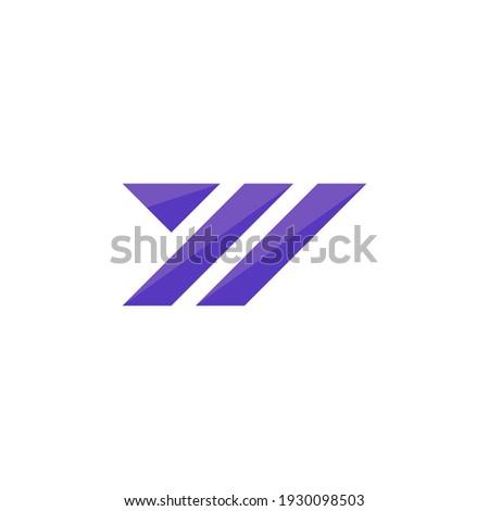 Creative Y Letter Logo Vector - Y Modern Logo Design Template - Y Letter Logo Mark Foto stock ©