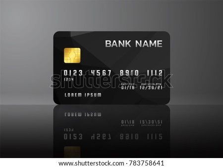 Credit card business card template idealstalist credit card business card template accmission Image collections