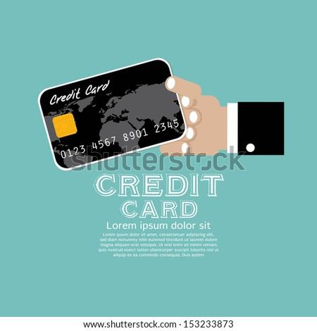 Credit Card  Illustration Vector EPS10