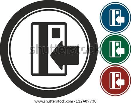 Credit card ,vector, icon