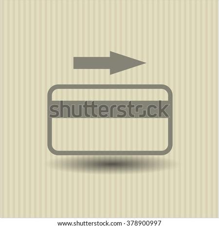 Credit Card vector icon or symbol