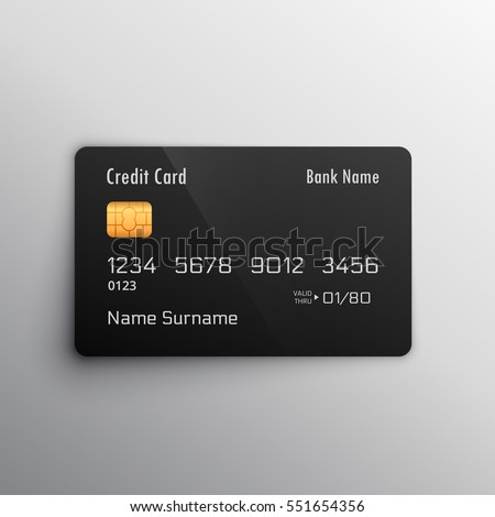 credit debit card mockup
