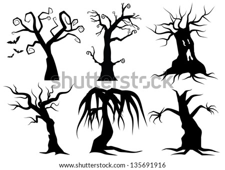 creepy cartoon trees eps 8