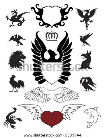 Crests Ornaments and Emblems