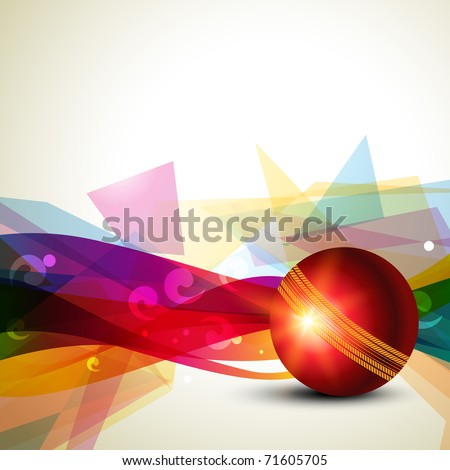 cricket ball icon. stock vector : cricket ball