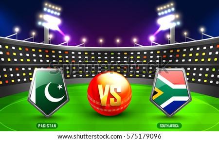 cricket championship concept