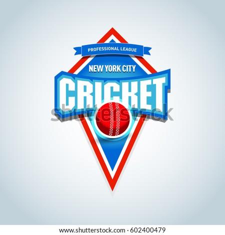 cricket logo   emblem template