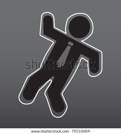 Crime scene People Icon