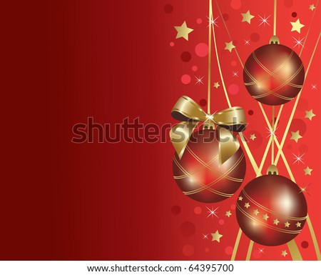 Cristmas decoration background