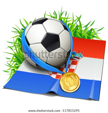 Croatia soccer icon