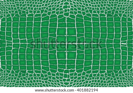 Crocodile, alligator leather skin pattern background.