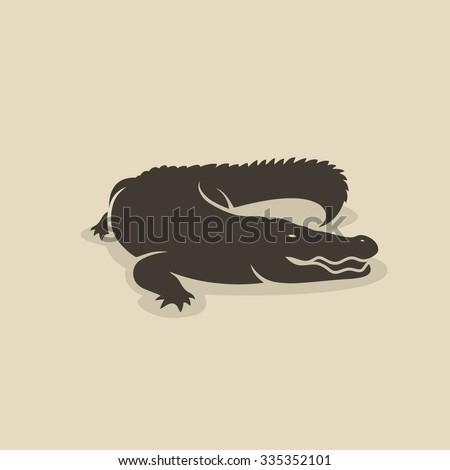 Crocodile - vector illustration