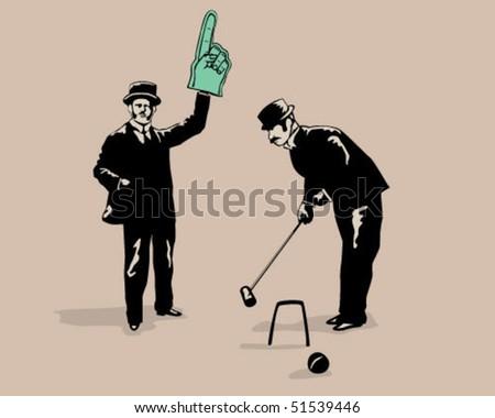 croquet game.